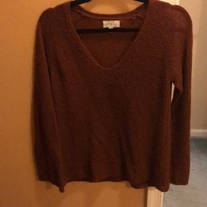 Rust colored sweater